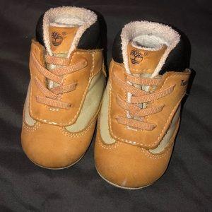 Baby Timberland booties